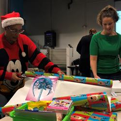 Santa's toy shop at City Hall benefits Biggs